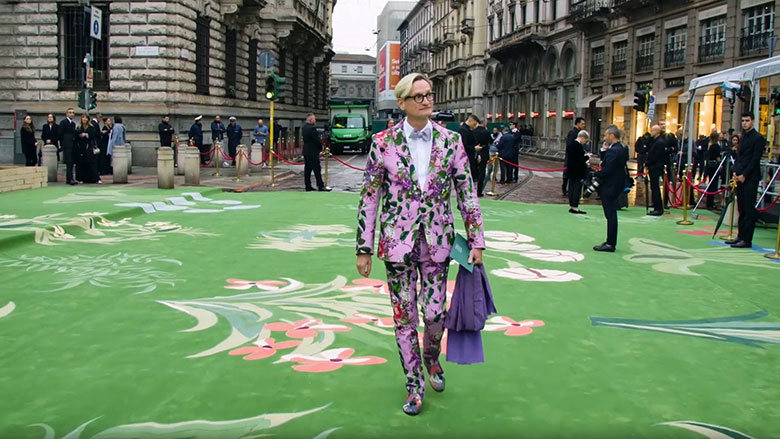 Green Carpet Fashion Awards, Italie, 2019